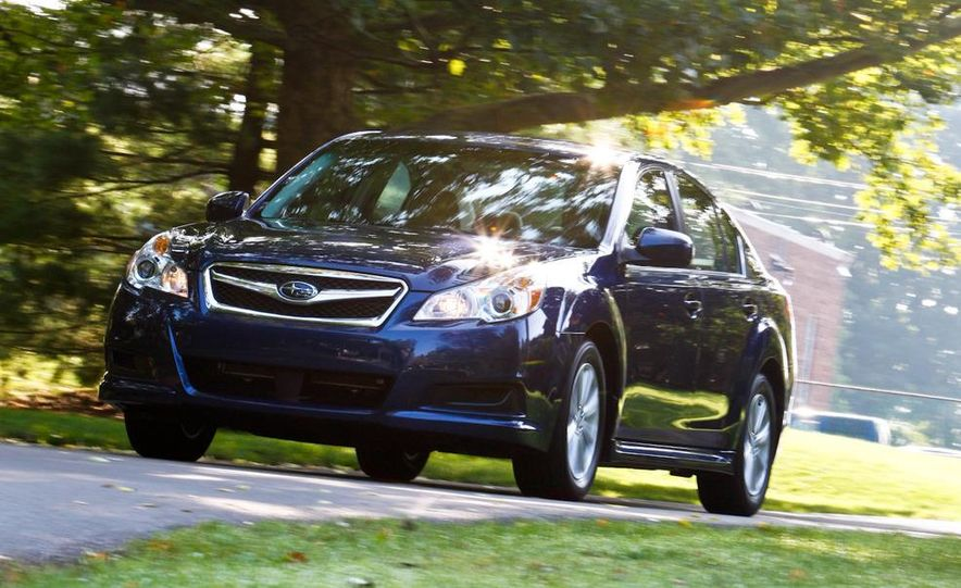 2010 Subaru Legacy 2.5i - Slide 24