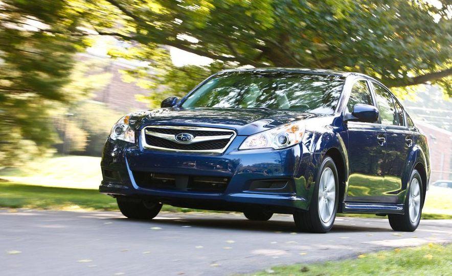 2010 Subaru Legacy 2.5i - Slide 25