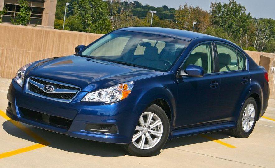 2010 Subaru Legacy 2.5i - Slide 12