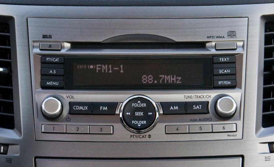 2010 Subaru Legacy 2.5i - Slide 39