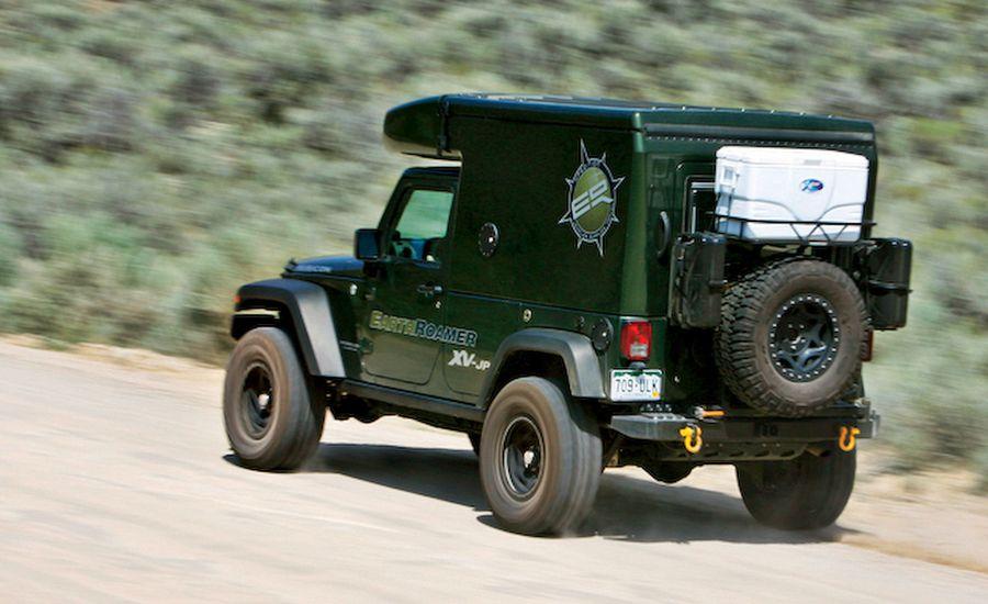 The Hard Way to Hemingway: We Drive a $120,000 Jeep EarthRoamer