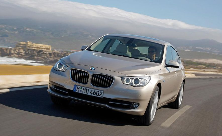 2010 BMW 535i Gran Turismo (Euro spec) - Slide 5