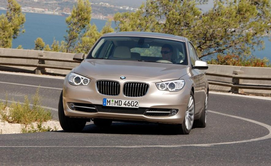2010 BMW 535i Gran Turismo (Euro spec) - Slide 8