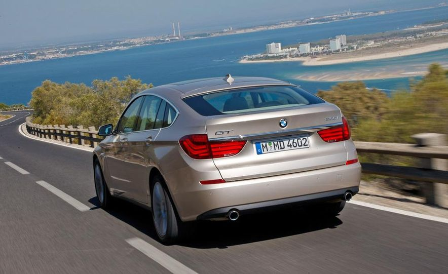 2010 BMW 535i Gran Turismo (Euro spec) - Slide 14