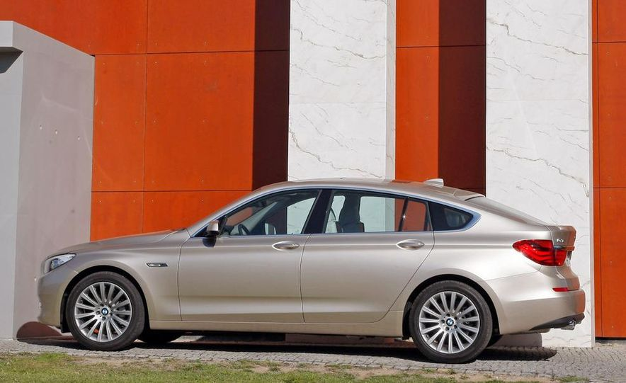 2010 BMW 535i Gran Turismo (Euro spec) - Slide 32