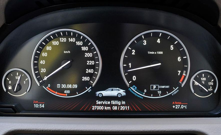 2010 BMW 535i Gran Turismo (Euro spec) - Slide 64