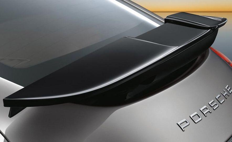 2010 Porsche Panamera Turbo rear wing cutaway - Slide 2