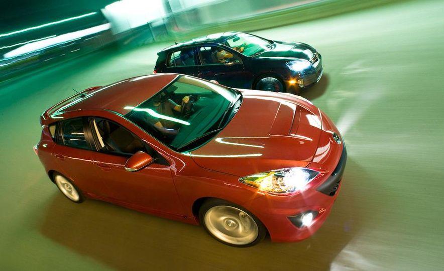 2010 Mazdaspeed 3 and 2010 Volkswagen GTI 5-door - Slide 2
