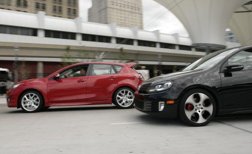 2010 Mazdaspeed 3 and 2010 Volkswagen GTI 5-door - Slide 7