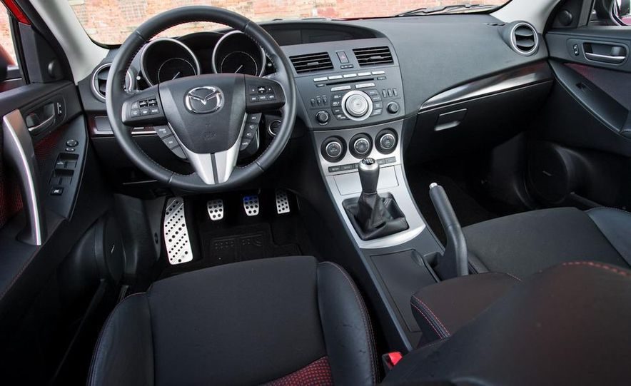2010 Mazdaspeed 3 and 2010 Volkswagen GTI 5-door - Slide 26