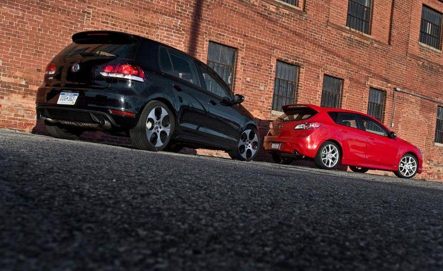 2010 Mazdaspeed 3 and 2010 Volkswagen GTI 5-door - Slide 8