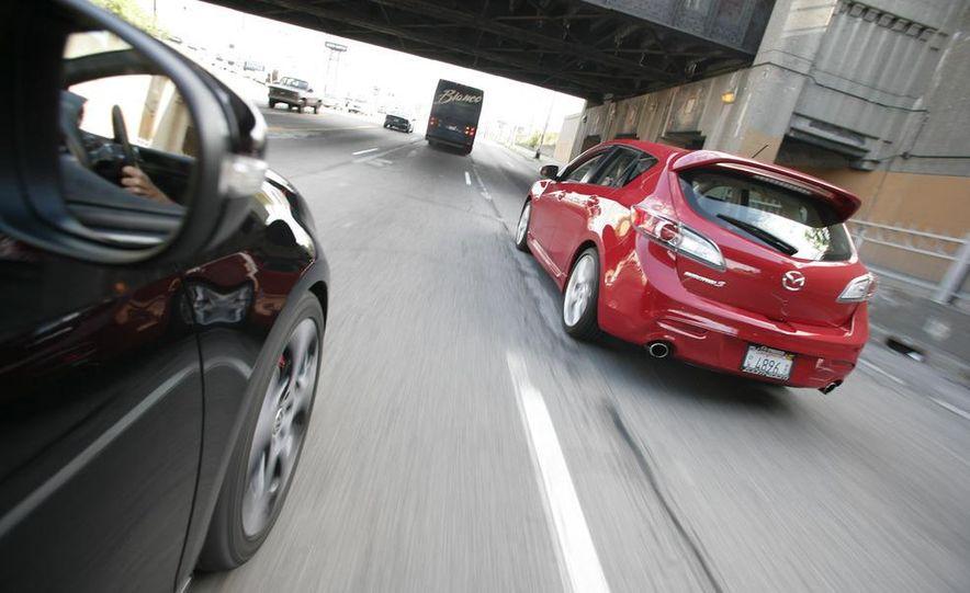 2010 Mazdaspeed 3 and 2010 Volkswagen GTI 5-door - Slide 11