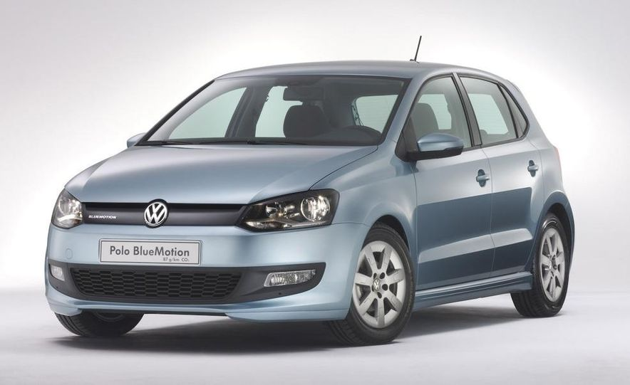 2010 Volkswagen Polo BlueMotion - Slide 1