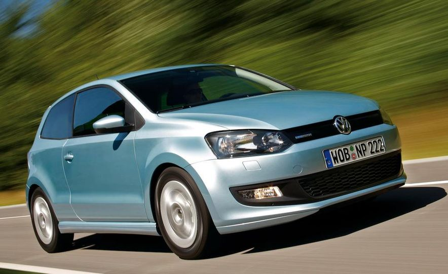 2010 Volkswagen Polo BlueMotion - Slide 8