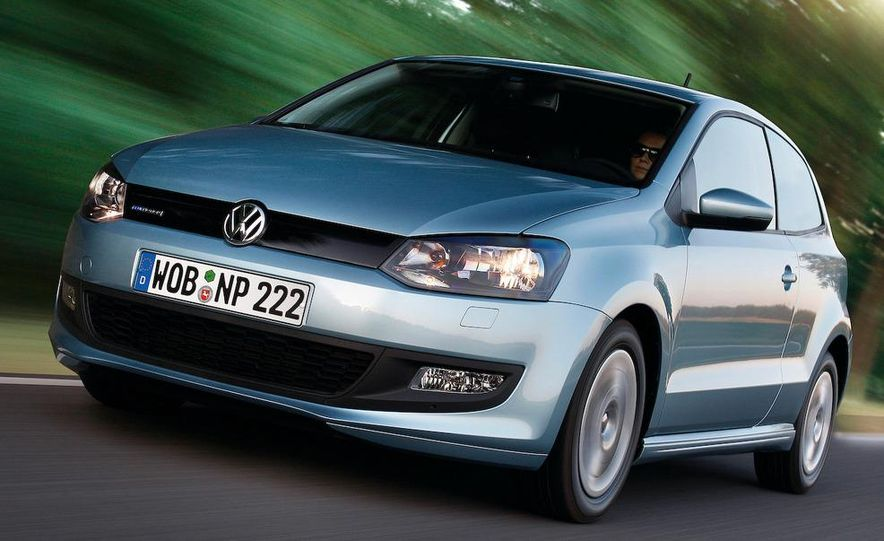 2010 Volkswagen Polo BlueMotion - Slide 10