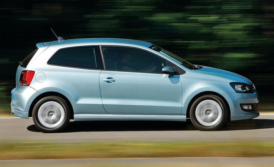 2010 Volkswagen Polo BlueMotion - Slide 17