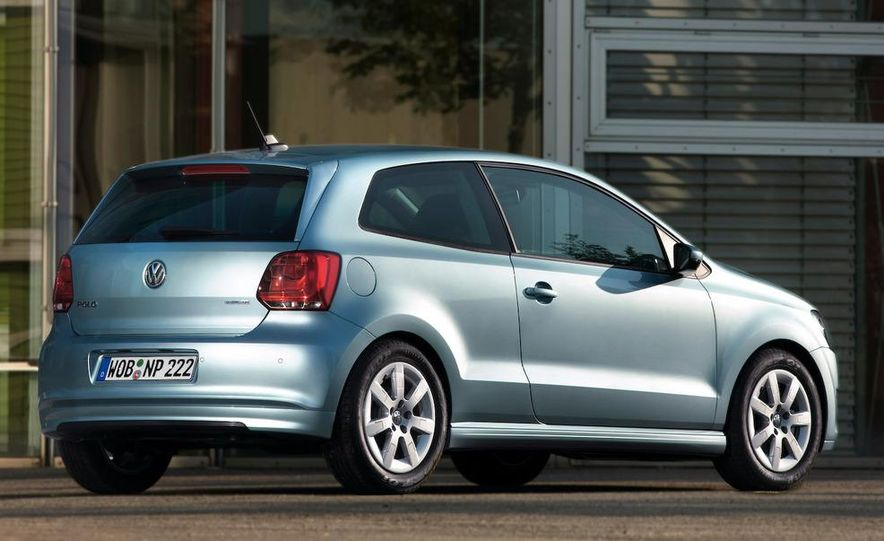 2010 Volkswagen Polo BlueMotion - Slide 19