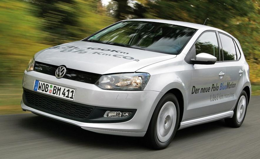 2010 Volkswagen Polo BlueMotion - Slide 14