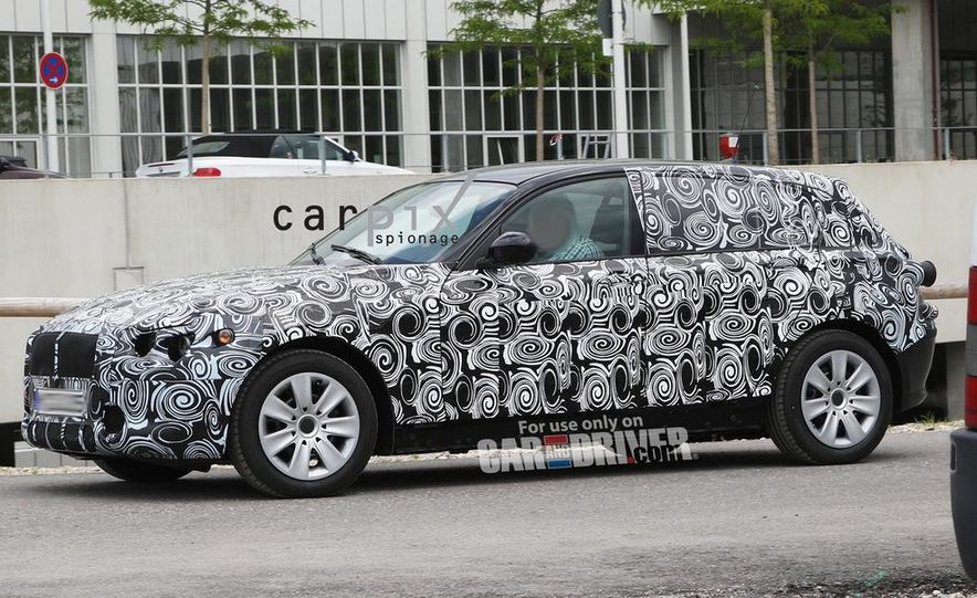 2013 BMW 1-series hybrid (spy photo) - Slide 7