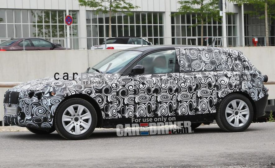 2013 BMW 1-series hybrid (spy photo) - Slide 8