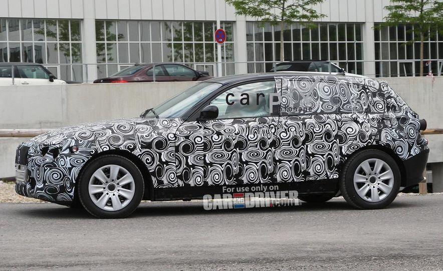 2013 BMW 1-series hybrid (spy photo) - Slide 9