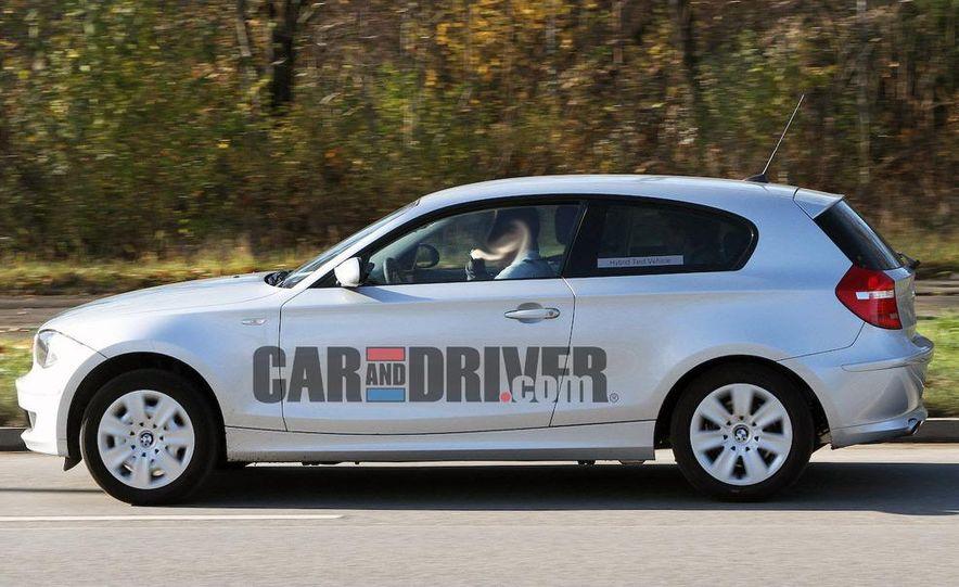2013 BMW 1-series hybrid (spy photo) - Slide 3