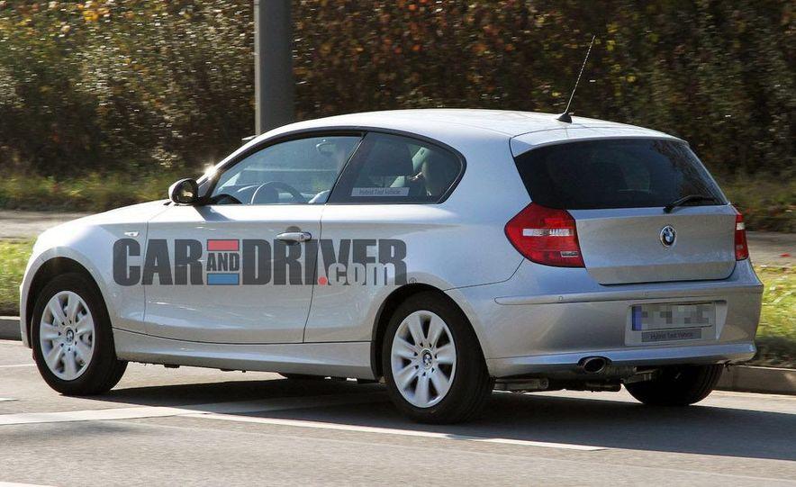2013 BMW 1-series hybrid (spy photo) - Slide 4