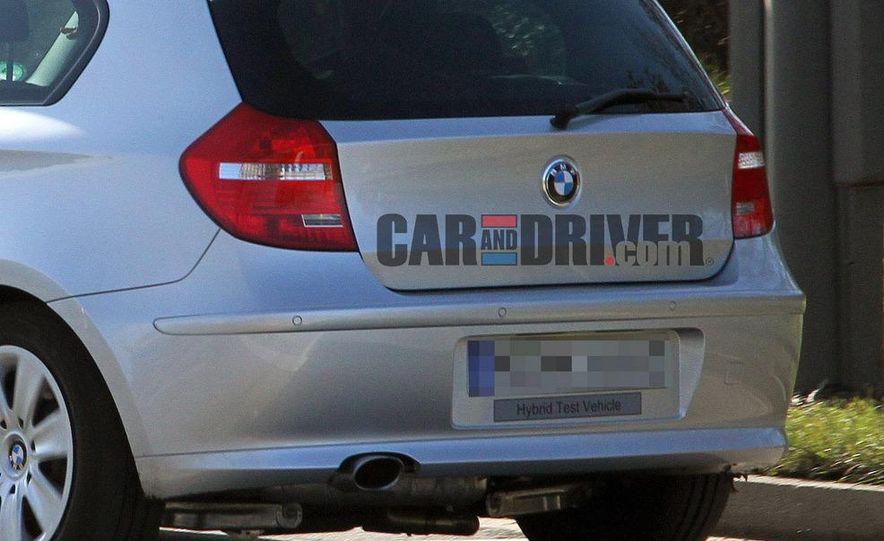 2013 BMW 1-series hybrid (spy photo) - Slide 5