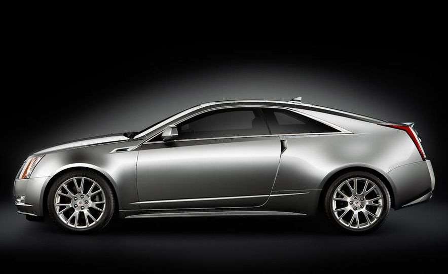 2011 Cadillac CTS coupe - Slide 15