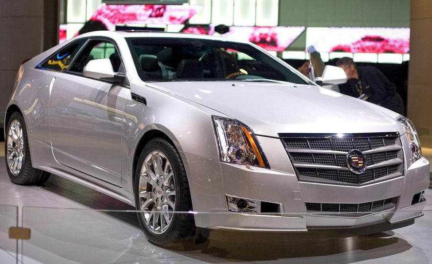 2011 Cadillac CTS coupe - Slide 8