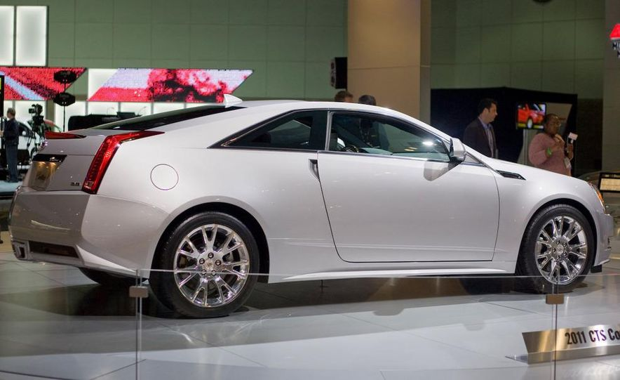 2011 Cadillac CTS coupe - Slide 9