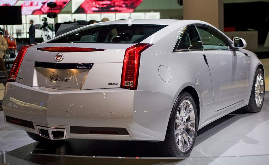 2011 Cadillac CTS coupe - Slide 10