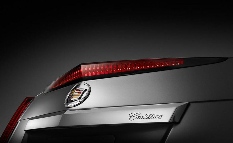 2011 Cadillac CTS coupe - Slide 14