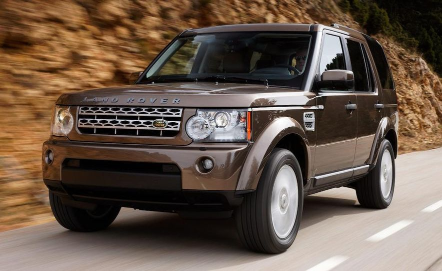 2010 Land Rover LR4 - Slide 8