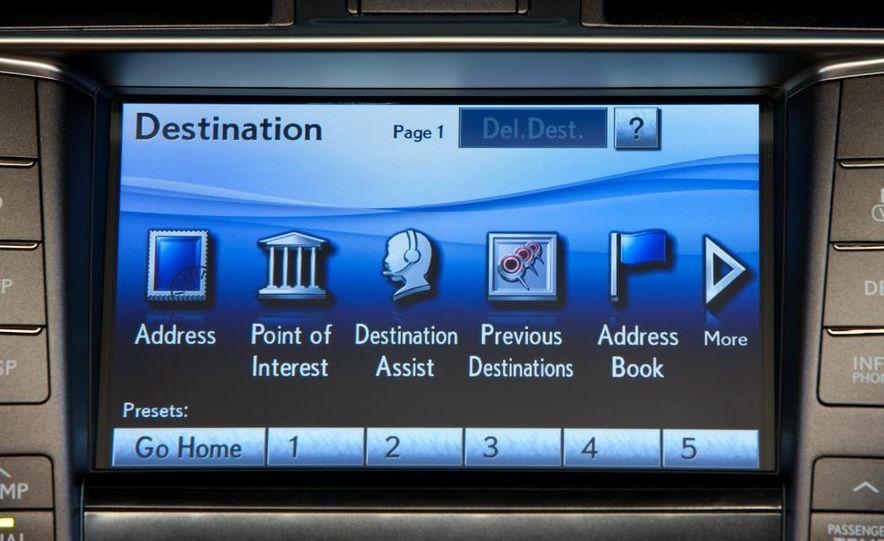 2010 Lexus LS460 with Sport package - Slide 13