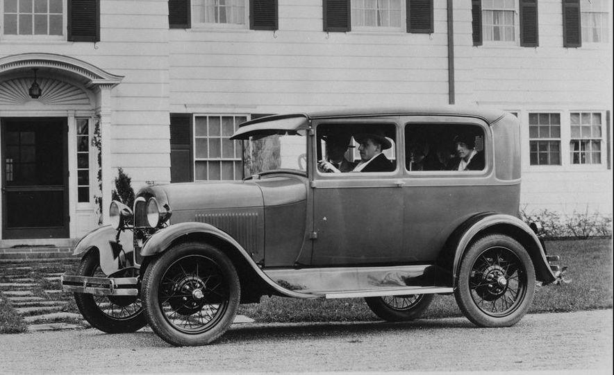 1928 Ford Model A Tudor Sedan - Slide 1