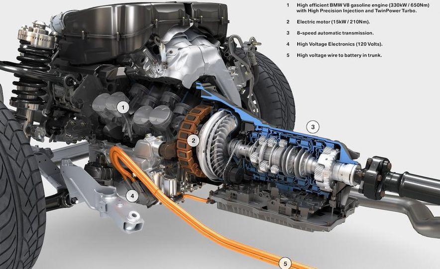 BMW ZF 8-speed automatic transmission cutaway - Slide 5