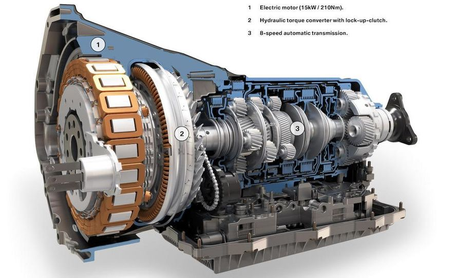 BMW ZF 8-speed automatic transmission cutaway - Slide 4