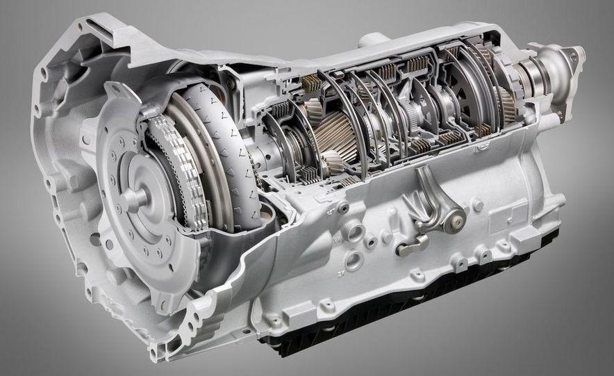 BMW ZF 8-speed automatic transmission cutaway - Slide 1