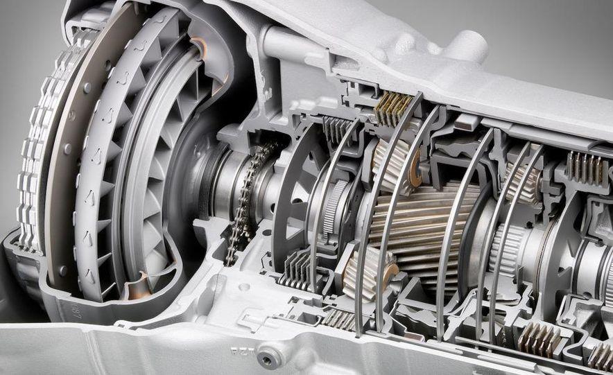 BMW ZF 8-speed automatic transmission cutaway - Slide 2