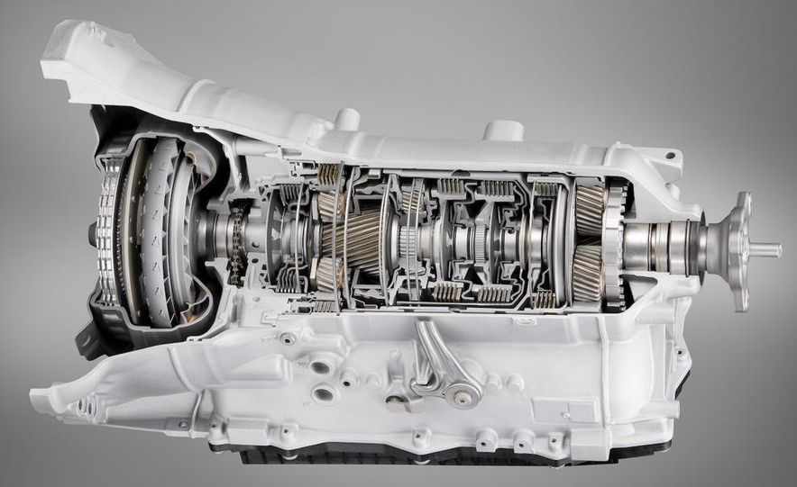 BMW ZF 8-speed automatic transmission cutaway - Slide 3