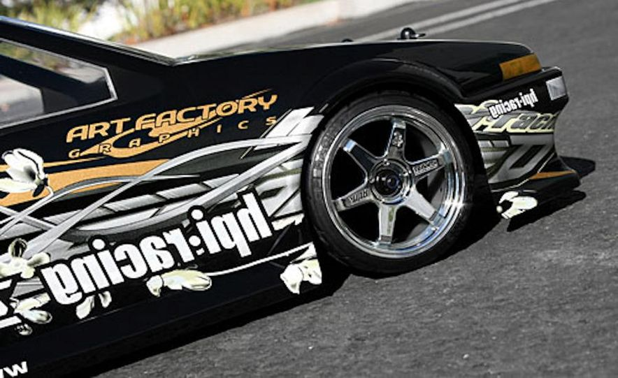 HPI-Racing Nitro RS4 3 Drift Toyota Soarer, Tamiya XB NISMO GT-R R35 TT-01E, Traxxas Slash 2WD Short-Course Race Truck, and HPI-Racing Sprint 2 Sport Drift Trueno - Slide 5
