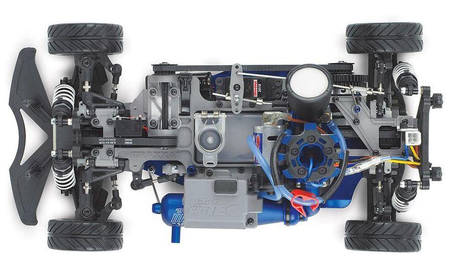 HPI-Racing Nitro RS4 3 Drift Toyota Soarer, Tamiya XB NISMO GT-R R35 TT-01E, Traxxas Slash 2WD Short-Course Race Truck, and HPI-Racing Sprint 2 Sport Drift Trueno - Slide 20