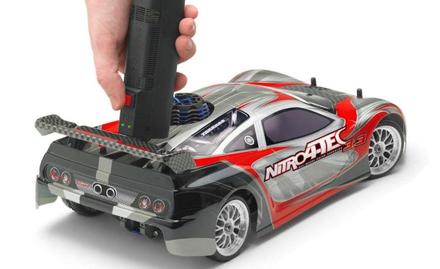 HPI-Racing Nitro RS4 3 Drift Toyota Soarer, Tamiya XB NISMO GT-R R35 TT-01E, Traxxas Slash 2WD Short-Course Race Truck, and HPI-Racing Sprint 2 Sport Drift Trueno - Slide 25