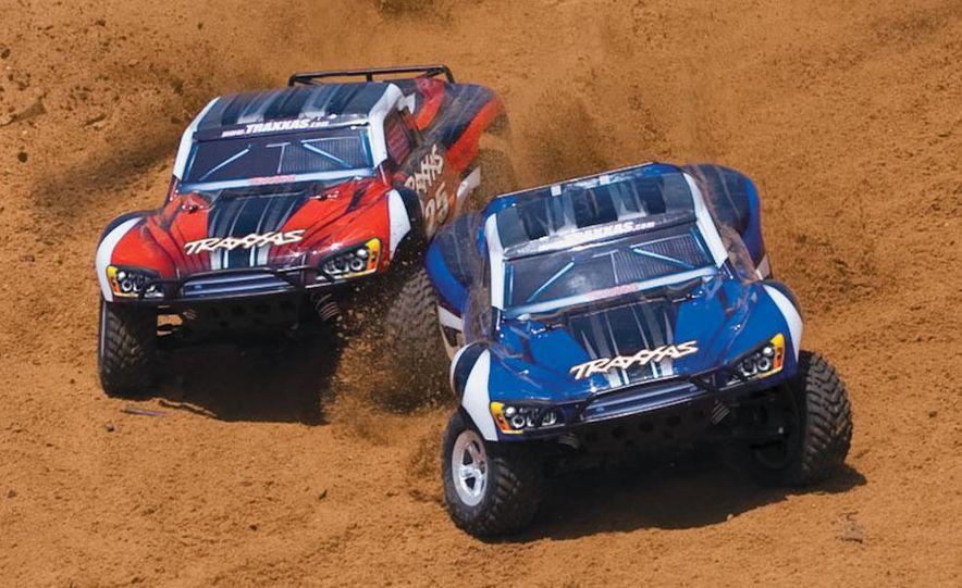 HPI-Racing Nitro RS4 3 Drift Toyota Soarer, Tamiya XB NISMO GT-R R35 TT-01E, Traxxas Slash 2WD Short-Course Race Truck, and HPI-Racing Sprint 2 Sport Drift Trueno - Slide 45