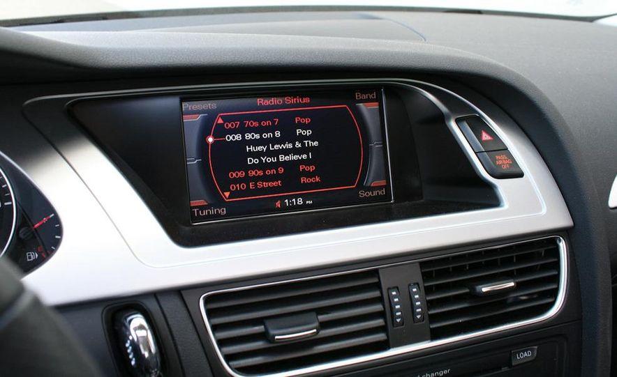 2009 Audi A4 2.0T Quattro sedan - Slide 9