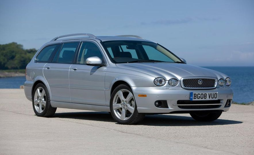2007 Jaguar X-type wagon (Euro-spec) - Slide 1