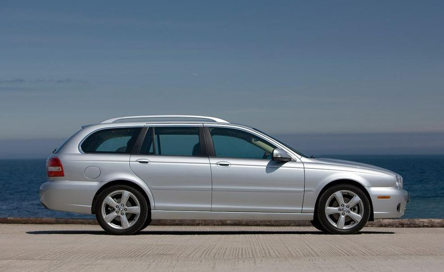 2007 Jaguar X-type wagon (Euro-spec) - Slide 3