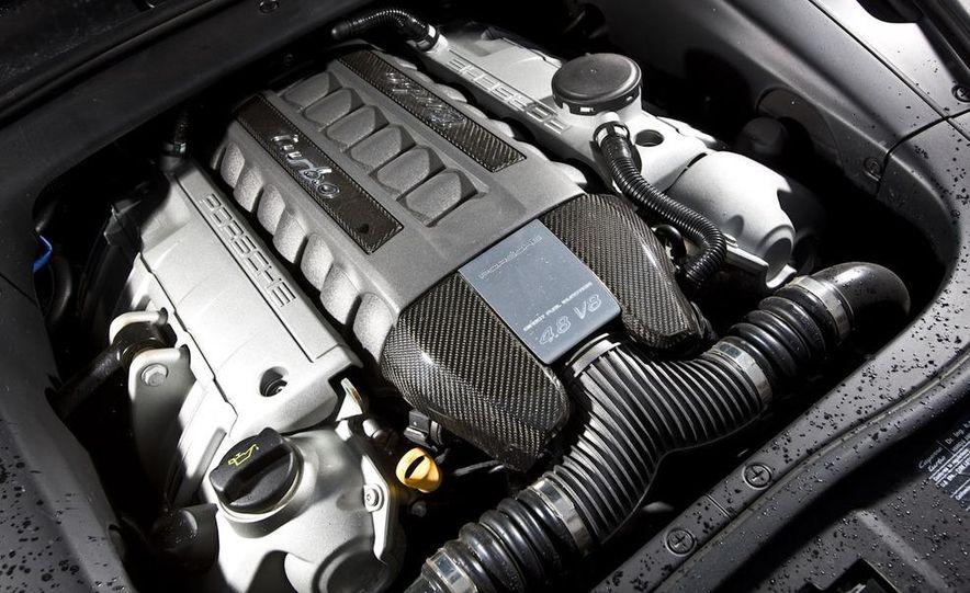 2010 BMW X5 M, 2009 Porsche Cayenne Turbo S, 2010 Jeep Grand Cherokee SRT8, and Land Rover Ranger Rover Sport Supercharged - Slide 38