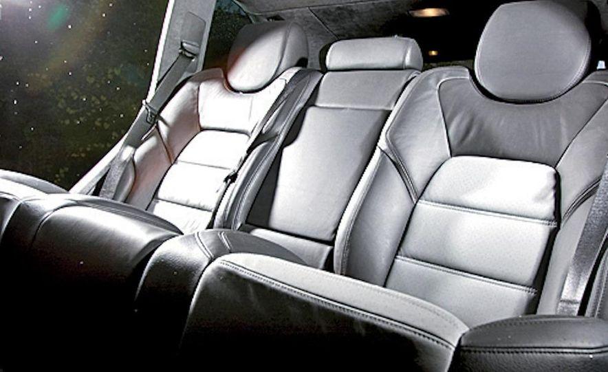 2010 BMW X5 M, 2009 Porsche Cayenne Turbo S, 2010 Jeep Grand Cherokee SRT8, and Land Rover Ranger Rover Sport Supercharged - Slide 42